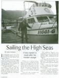 Read the article on the Siggi-G Ocean Charters!